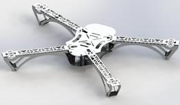 Quadrocopter Aluminium