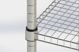 chrome plated storage rack