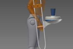 Plate Holder (Crutch Accessory Challenge)