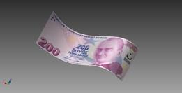 Turkish lira ( 200 TL )