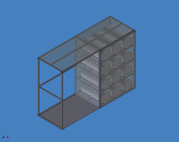 Safety Gas Rack (Cage)