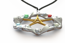 5 elements necklace