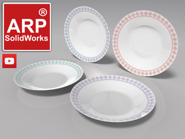 soup bowl (plate)