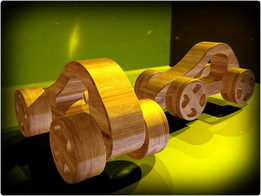 The wooden Racer
