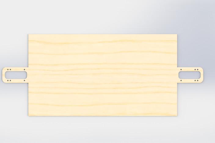 longboard truck template - longboard template solidworks 3d cad model grabcad
