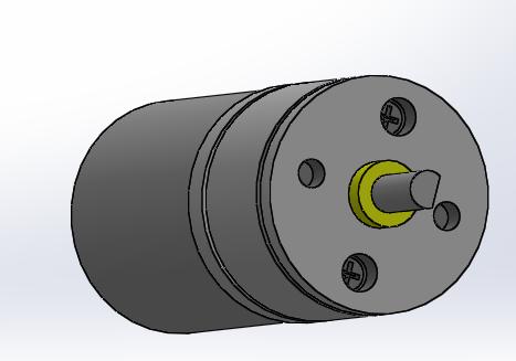 Pololu Metal Gearmotor 25Dx52L 47:1 | 3D CAD Model Library | GrabCAD