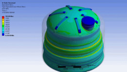 water tank pressure analysis