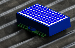 Idee for housing the solarpanel and batteries