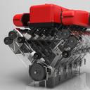 KeyShot 3D Rendering Competition (Ferrari Engine)