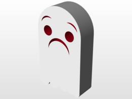 Super Scared Ghostie