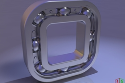 Crazy ball bearing