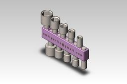 10 PCS Set Socket spanner Kit
