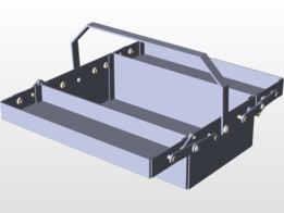 Caja desplegable, Toolbox