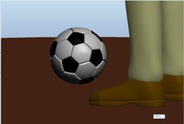 Football model on PTC Creo Elements