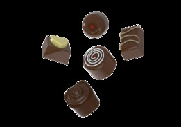 Bonbon Chocolates (Solidworks & STEP)