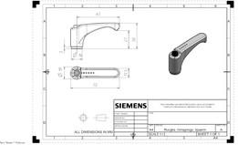 Lever-type handle ERM.