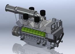 MTU 16V Marine Diesel Engine