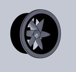 Fan DC 5cm Diameters