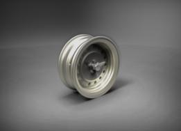 50's Vintage Jaguar Steel Wheel