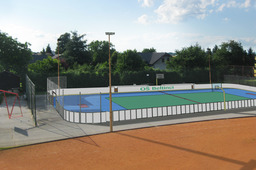 Inline skater hockey playground