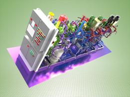 Modular boiler equipment.