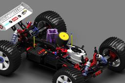 Cen Matrix Arena RC Car