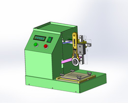 Glove testing machine