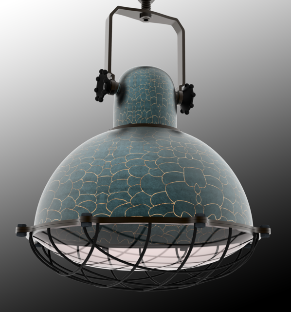 Industrial inspired lighting Retro Style Grabcad Hanging Industrial Inspired Lighting 3d Cad Model Library Grabcad