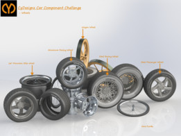 Car Components Challenge - Wheels