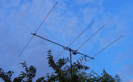4 element yagi for 6m by S54MTB