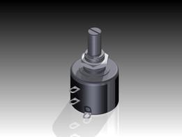 Potentiometer - vishay spectrol 534