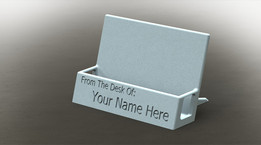 3D Printable Business Card Holder