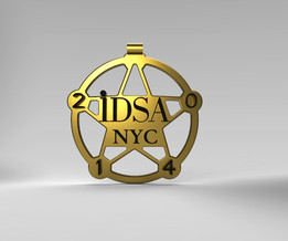 IDSA - Sheriff badge - 3D print