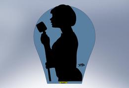 Silhouette - Female Singer