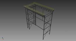 estrutura de moinho