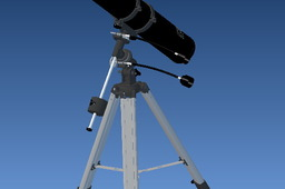 4.5 inch Telescope on Equatorial Mount