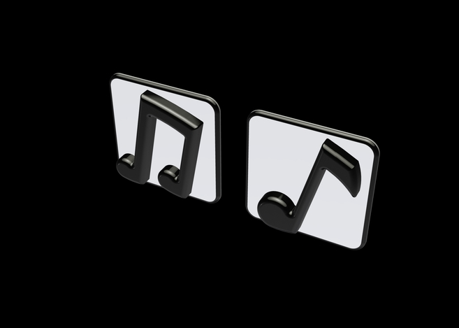 Music Note Wall Decor 1