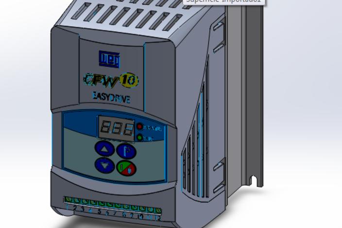 Inversor de Frequência CFW-10 Clean - 0,5 a 1cv