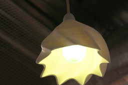 twist lamp shADING