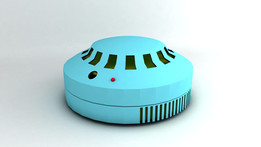 Smoke detector , DXF, 3DS MAX