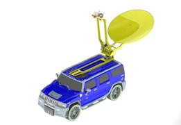 Hummer H2 with Radar