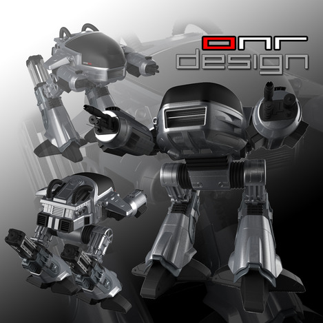 "ED-209 from ""Robocop"" Movie"