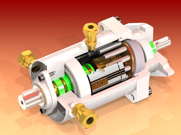 Servo type hydraulic steering unit