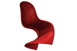 Panton Chair after tutorial by Jan-Willem Zuyderduyn