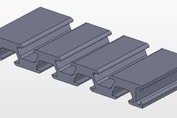 15*120 Surface coating profile