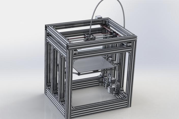 Corexy 3d Printer Stl 3d Cad Model Grabcad