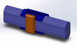 NASA Handrail Clamp - Clip