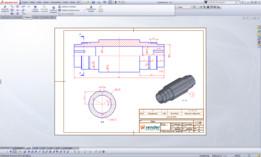 Detalhamento Mecânico - Eixo (Montagem)