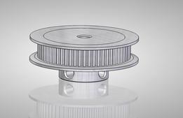 STEP / IGES, pulley - Most downloaded models | 3D CAD Model