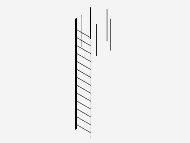 ECHELLE CRINOLINE 3D DYNAMIC | 3D CAD Model Library | GrabCAD